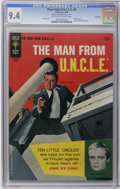 Silver Age (1956-1969):Adventure, Man from U.N.C.L.E. #5 File Copy (Gold Key, 1966) CGC NM 9.4 Off-white to white pages. Robert Vaughn and David McCallum phot...