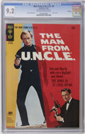 Silver Age (1956-1969):Miscellaneous, Man from U.N.C.L.E. #9 File Copy (Gold Key, 1966) CGC NM- 9.2 Off-white to white pages. David McCallum and Robert Vaughn pho...