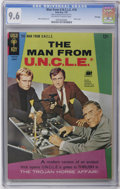 Silver Age (1956-1969):Adventure, Man from U.N.C.L.E. #10 File Copy (Gold Key, 1967) CGC NM+ 9.6 Off-white to white pages. Excellent copy featuring a photo co...