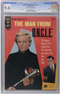 Silver Age (1956-1969):Adventure, Man from U.N.C.L.E. #11 File Copy (Gold Key, 1967) CGC NM 9.4 Off-white to white pages. David McCallum and Robert Vaughn pho...