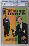 Silver Age (1956-1969):Adventure, Man from U.N.C.L.E. #12 (Gold Key, 1967) CGC NM+ 9.6. Robert Vaughn and David McCallum are ready for high stakes action on t...