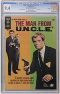 Silver Age (1956-1969):Adventure, Man from U.N.C.L.E. #12 File Copy (Gold Key, 1967) CGC NM 9.4 Off-white to white pages. Robert Vaughn and David McCallum pho...