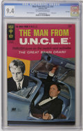 Silver Age (1956-1969):Adventure, Man from U.N.C.L.E. #14 File Copy (Gold Key, 1967) CGC NM 9.4 Off-white to white pages. Great photo cover featuring Robert V...