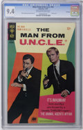Silver Age (1956-1969):Adventure, Man from U.N.C.L.E. #15 File Copy (Gold Key, 1967) CGC NM 9.4 Off-white to white pages. Robert Vaughn and David McCallum pho...