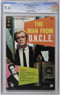 Silver Age (1956-1969):Adventure, Man from U.N.C.L.E. #18 File Copy (Gold Key, 1968) CGC NM 9.4 Off-white to white pages. David McCallum and Robert Vaughn pho...