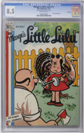 Golden Age (1938-1955):Humor, Marge's Little Lulu #17 File Copy (Dell, 1949) CGC VF+ 8.5 Off-white pages. The highest-graded copy CGC has yet to certify o...