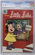 Silver Age (1956-1969):Humor, Marge's Little Lulu #128 File Copy (Dell, 1959) CGC NM- 9.2 Off-white to white pages. Overstreet 2006 NM- 9.2 value = $85. C...