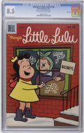 Silver Age (1956-1969):Humor, Marge's Little Lulu #128 File Copy (Dell, 1959) CGC VF+ 8.5 Off-white to white pages. Overstreet 2006 VF 8.0 value = $45; VF...
