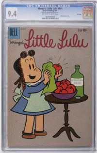 Marge's Little Lulu #141 File Copy (Dell, 1960) CGC NM 9.4 Off-white to white pages. Tubby backup story. Overstreet 2006...