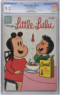 Marge's Little Lulu #143 File Copy (Dell, 1960) CGC NM- 9.2 Off-white to white pages. Tubby backup story. Overstreet 200...