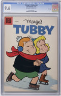 Silver Age (1956-1969):Humor, Marge's Tubby #44 File Copy (Dell, 1961) CGC NM+ 9.6 Off-white to white pages. Overstreet 2006 NM- 9.2 value = $48. CGC cens...