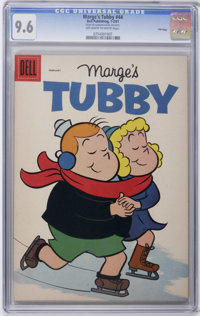 Marge's Tubby #44 File Copy (Dell, 1961) CGC NM+ 9.6 Off-white to white pages. Overstreet 2006 NM- 9.2 value = $48. CGC...