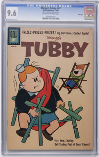 Marge's Tubby #47 File Copy (Dell, 1961) CGC NM+ 9.6 Off-white to white pages. Currently, holds the single highest CGC g...