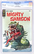 Silver Age (1956-1969):Adventure, Mighty Samson #8 File Copy (Gold Key, 1966) CGC NM+ 9.6 Off-white pages. Painted cover. Jack Sparling art. Overstreet 2006 N...