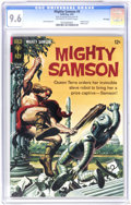 Silver Age (1956-1969):Adventure, Mighty Samson #9 File Copy (Gold Key, 1967) CGC NM+ 9.6 Off-white to white pages. Painted robot cover. Jack Sparling art. Ov...