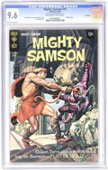 Silver Age (1956-1969):Adventure, Mighty Samson #15 File Copy (Gold Key, 1968) CGC NM+ 9.6 Off-white to white pages. Painted cover. Jack Sparling art. Overstr...