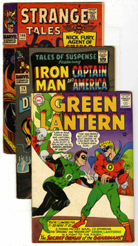 Miscellaneous Silver Age Group (Various, 1963-74) Condition: Average GD. Includes Astonishing Tales #23 (IT vs. Fin Fang...