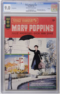Silver Age (1956-1969):Miscellaneous, Movie Comics - Mary Poppins #nn File Copy (Gold Key, 1965) CGC VF/NM 9.0 Off-white to white pages. Photo cover. Photo back c...