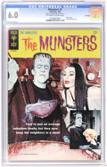 Silver Age (1956-1969):Humor, Munsters #1 File Copy (Gold Key, 1965) CGC FN 6.0 Off-white to white pages. Photo cover. Pin-up back cover. Overstreet 2006 ...