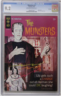 Munsters #2 File Copy (Gold Key, 1965) CGC NM- 9.2 Off-white to white pages. Photo cover. Back cover photo pin-up. Overs...