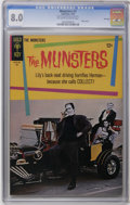 Silver Age (1956-1969):Humor, Munsters #3 File Copy (Gold Key, 1965) CGC VF 8.0 Off-white to white pages. George Barris car photo cover. Photo pin-up back...
