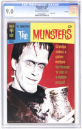 Silver Age (1956-1969):Humor, Munsters #15 File Copy (Gold Key, 1967) CGC VF/NM 9.0 Off-white to white pages. Photo cover. Overstreet 2006 VF/NM 9.0 value...