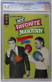 My Favorite Martian #6 File Copy (Gold Key, 1965) CGC NM- 9.2 Off-white to white pages. Photo cover. Back cover photo pi...