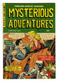 Mysterious Adventures #8 Mile High pedigree (Story Comics, 1952) Condition: VF/NM. A. C. Hollingsworth art. Contains an...