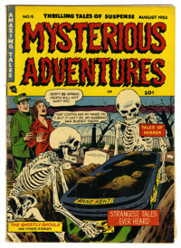 "Mysterious Adventures #9 (Story Comics, 1952) Condition: GD/VG. Overstreet notes, ""Extreme violence"". Overstre..."