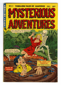 Mysterious Adventures #11 Mile High pedigree (Story Comics, 1952) Condition: VF/NM. Mentioned in Seduction of the Innoce...
