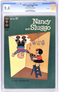 Silver Age (1956-1969):Humor, Nancy and Sluggo #188 File Copy (Gold Key, 1962) CGC NM 9.4 Off-white to white pages. Far and away the highest-graded copy C...