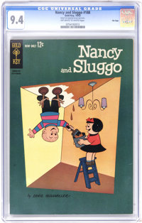 Nancy and Sluggo #188 File Copy (Gold Key, 1962) CGC NM 9.4 Off-white to white pages. Far and away the highest-graded co...