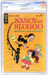 Nancy and Sluggo #190 File Copy (Gold Key, 1963) CGC NM 9.4 Off-white to white pages. Highest grade yet assigned by CGC...