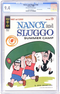 Nancy and Sluggo #192 File Copy (Gold Key, 1963) CGC NM 9.4 Off-white to white pages. A wonderful copy. Highest grade ye...