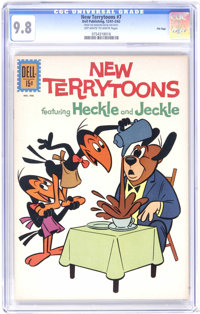 New Terrytoons #7 File Copy (Dell, 1962) CGC NM/MT 9.8 Off-white to white pages. A fantastic copy, highest grade yet ass...
