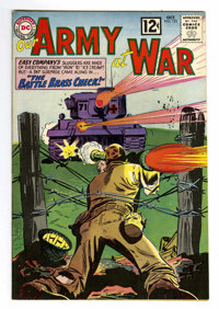 Our Army at War #123 (DC, 1962) Condition: VF+. Overstreet 2006 VF 8.0 value = $63; VF/NM 9.0 value = $94