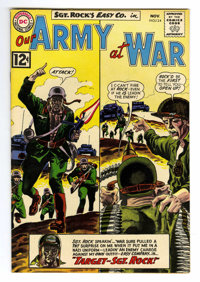 Our Army at War #124 (DC, 1962) Condition: VF+. Joe Kubert and Irv Novick art. Overstreet 2006 VF 8.0 value = $63; VF/NM...