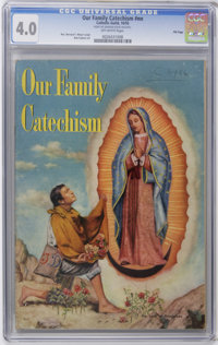 Our Family Catechism #nn File Copy (Catechetical Guild, 1955) CGC VG 4.0 Off-white pages. Bob Fujitani art. Not currentl...