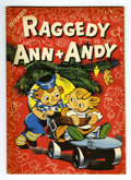 Golden Age (1938-1955):Cartoon Character, Raggedy Ann and Andy #7 (Dell, 1946) Condition: NM. Christmascover. Only appearance of Little Black Sambo, Black Mumbo, and...