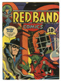 Golden Age (1938-1955):Superhero, Red Band Comics #1 (Enwil, 1945) Condition: FN+. Bogey Man appearance. Overstreet 2006 FN 6.0 value = $120; VF 8.0 value = $...