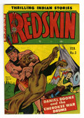 Golden Age (1938-1955):Western, Redskin #3 Mile High pedigree (Youthful Magazines, 1951) Condition: VF+. Contains a Daniel Boone story. Overstreet 2006 VF 8...
