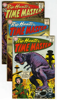Rip Hunter Time Master Group (DC, 1962-65) Condition: Average VF. Issues include #9, 16, 18, 20, and 27. Bill Ely covers...