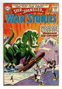 Star Spangled War Stories #112 (DC, 1964) Condition: VF/NM. Dinosaur Issue. Overstreet 2006 VF/NM 9.0 value = $118; NM-...