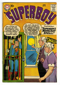 Silver Age (1956-1969):Superhero, Superboy #65 (DC, 1958) Condition: FN+. Curt Swan cover. Henry Boltinoff, George Papp, and Al Plastino art. Overstreet 2006 ...