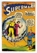 Silver Age (1956-1969):Superhero, Superman #121 (DC, 1958) Condition: VG/FN. Curt Swan cover. Swan, Wayne Boring, and Kurt Schaffenberger art. Overstreet 2006...