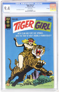Silver Age (1956-1969):Superhero, Tiger Girl #1 File Copy (Gold Key, 1968) CGC NM 9.4 White pages. Jack Sparling cover and art. Overstreet 2006 NM- 9.2 value ...