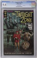 Silver Age (1956-1969):Horror, Twilight Zone #27 File Copy (Gold Key, 1968) CGC NM 9.4 Off-white pages. Painted cover. Currently, tied for the highest CGC ...