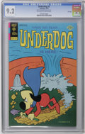 Bronze Age (1970-1979):Cartoon Character, Underdog #2 File Copy (Gold Key, 1975) CGC NM- 9.2 Off-white towhite pages. Overstreet 2006 NM- 9.2 value = $65. CGC census...