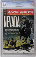 Silver Age (1956-1969):Western, Zane Grey's Stories of the West #10131-411 File Copy (Dell, 1964) CGC NM 9.4 Off-white to white pages. Overstreet 2006 NM- 9...