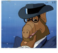 """Animation Art:Production Cel, """"ALF: the Animated Series"""" Animation Production Cel and Clean-UpDrawing, Group of 3 (DIC Entertainment, 1987-88). A spin-of...(Total: 3 Items)"""